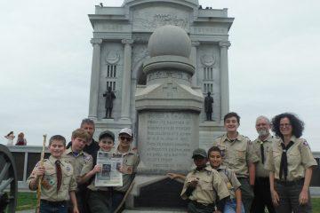 Hoboken memorial at Gettysburg
